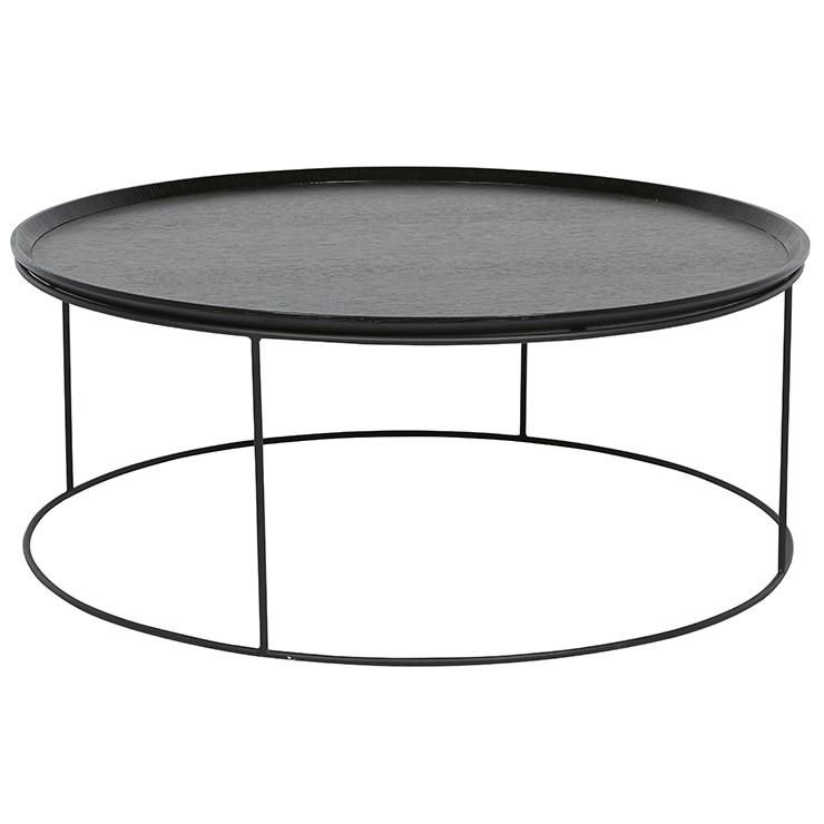Soho Round Coffee Table Dark Wenge With Images Round Coffee Table