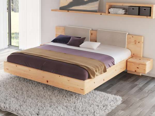 Zirbenholzbett  - zirbenholz schlafzimmer modern