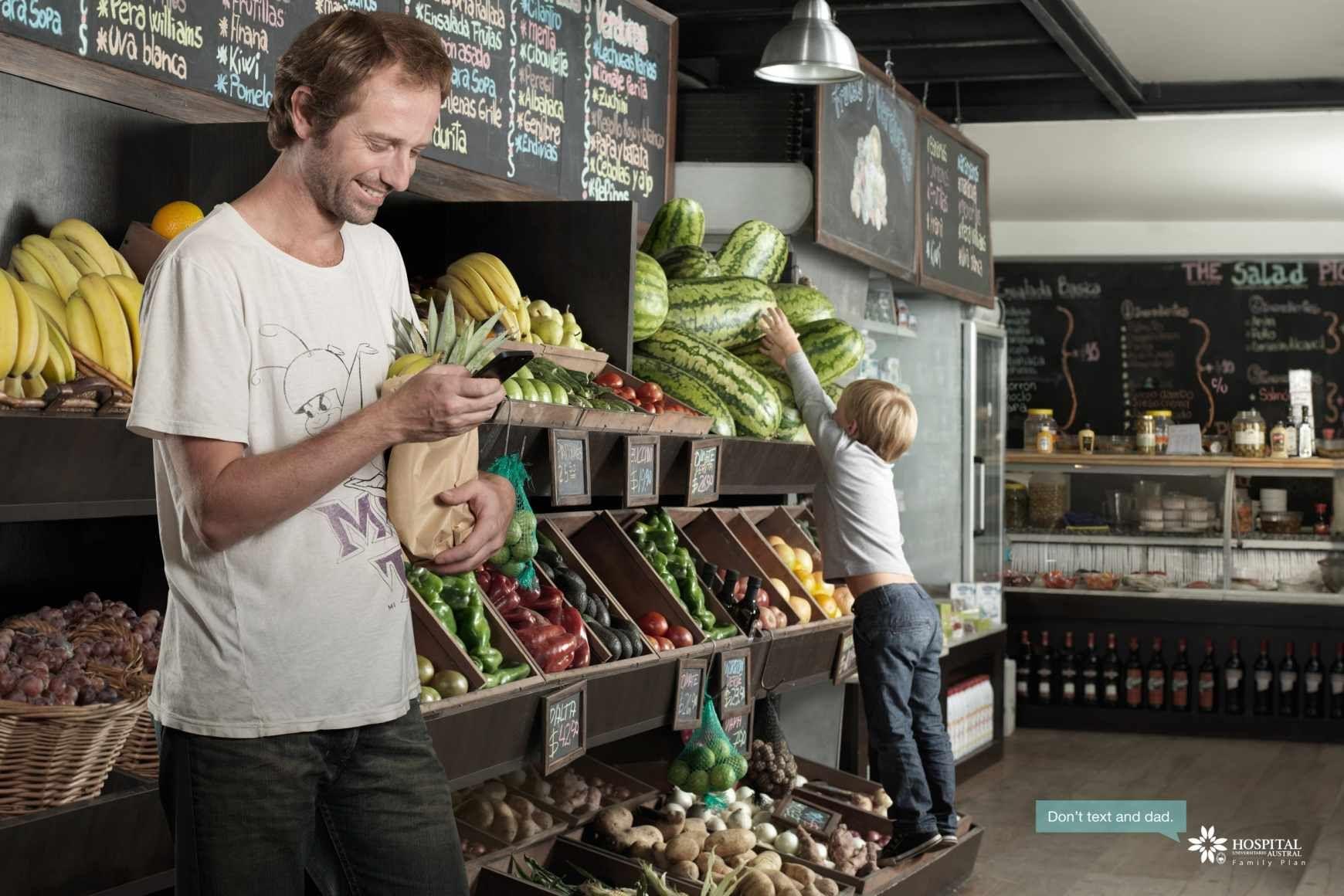 Hospital Austral: Family Plan, Vegetable stand