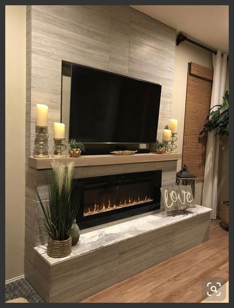 Touchstone The Sideline Recessed Electric Fireplace Salvabran Touchsto Living Room Decor Fireplace Recessed Electric Fireplace Living Room With Fireplace Living room ideas electric fireplace