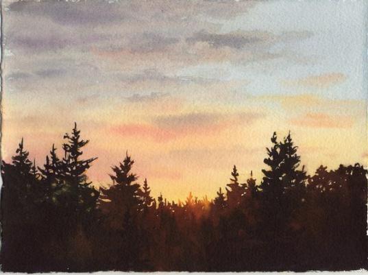 Susie Short Watercolors Watercolor Landscapes Nature