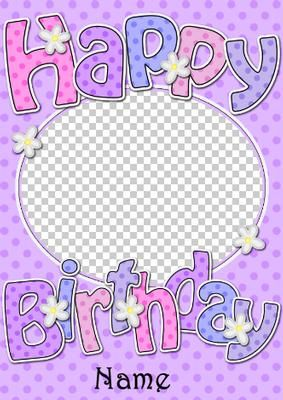 Birthday dots flowers photo upload card on craftsuprint designed birthday dots flowers photo upload card on craftsuprint designed by carol clarke a fabby birthday bookmarktalkfo Choice Image