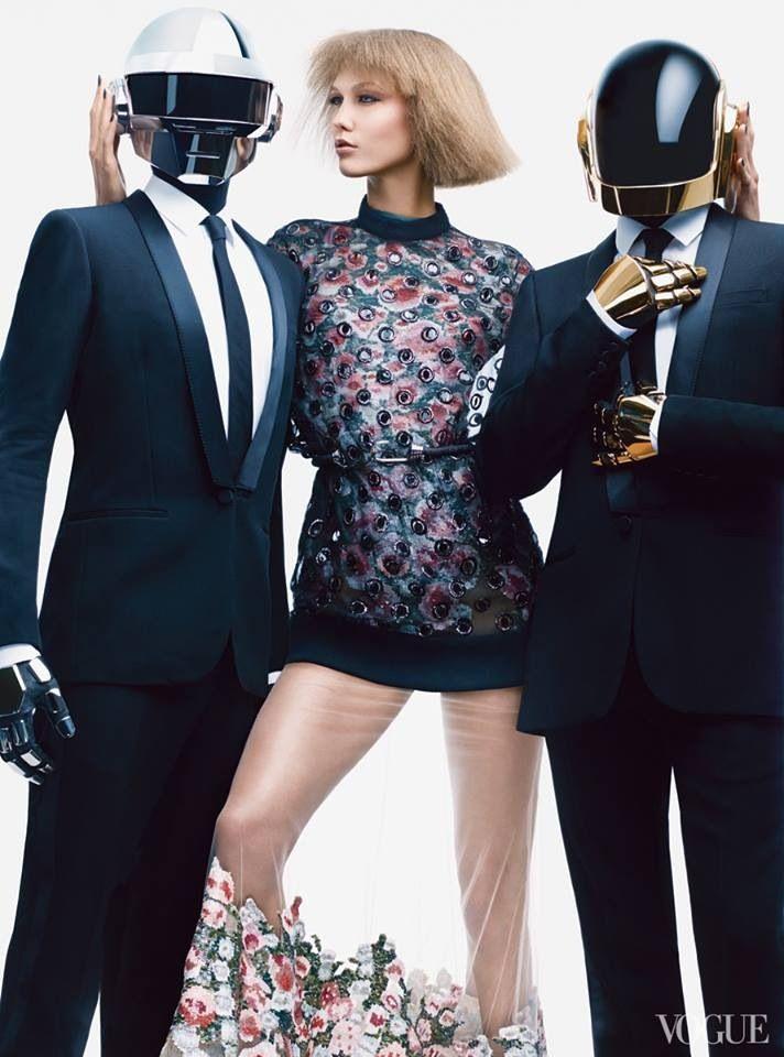 Karlie Kloss & Daft Punk