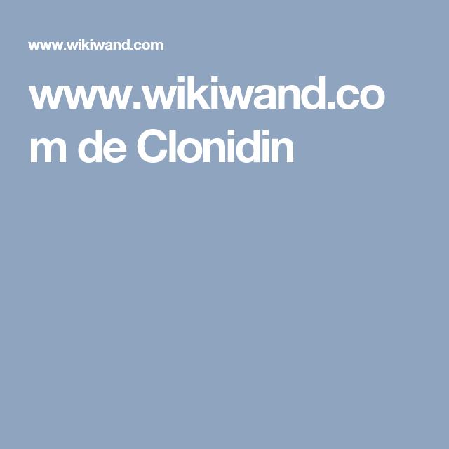 www.wikiwand.com de Clonidin