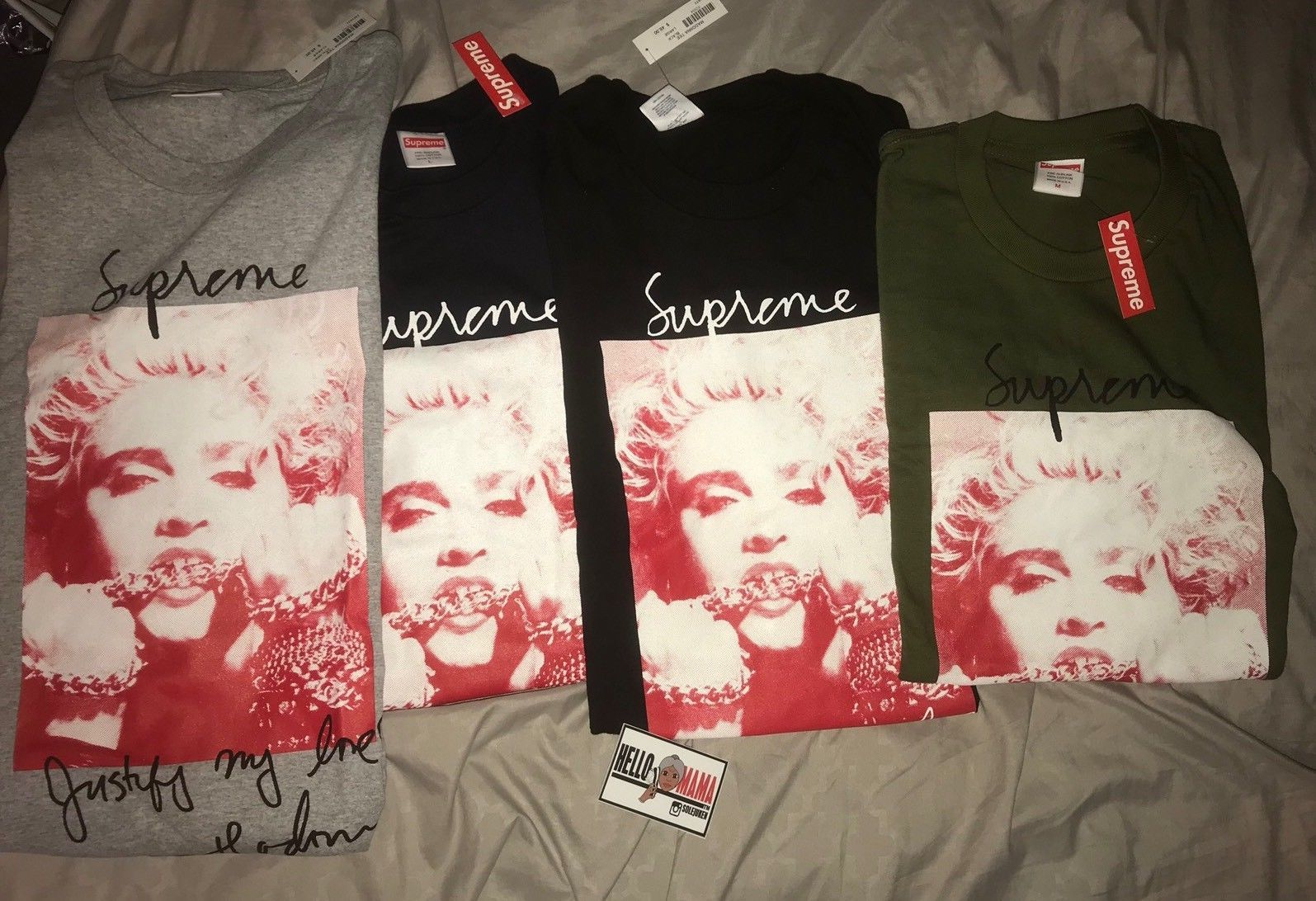 a4eba6131 Fashion Clothes. Supreme Madonna Tee Streetwear brand Supreme has unveiled  its Fall/Winter 2018 collection to coincide with Madonna's birthday.