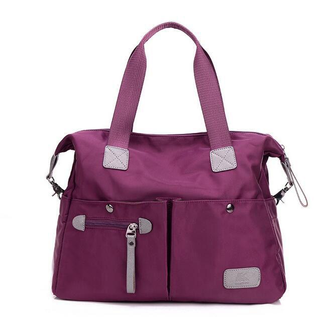 K-TWO High Quality Zipper Solid Waterproof Bag Nylon Handbags Women  Crossbody Casual Tote Shoulder Woman Messenger Bags c288c3d6aa