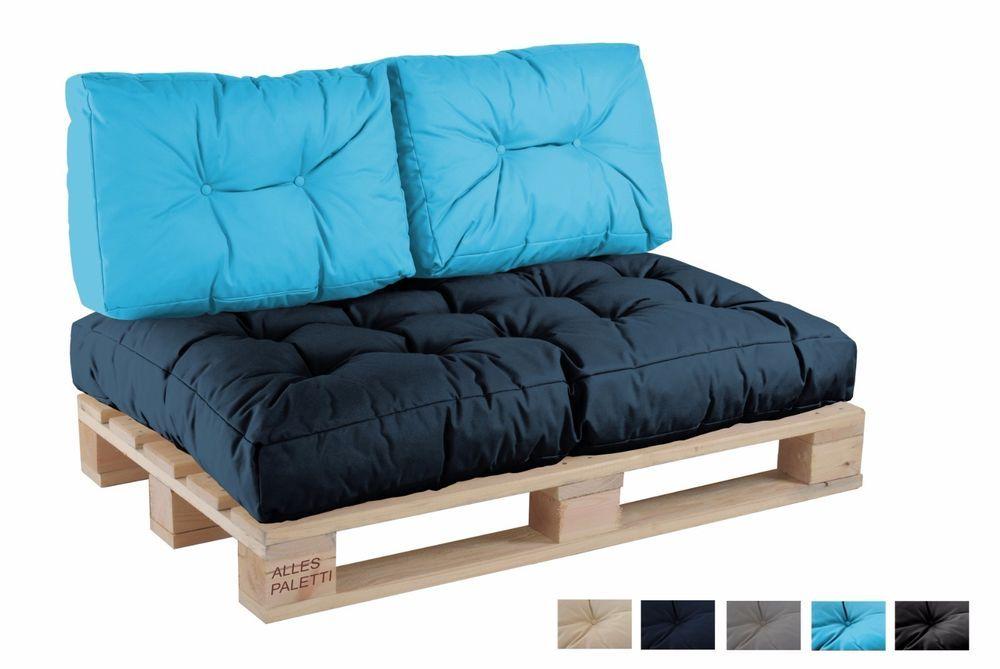 details zu palettenkissen palettenpolster paletten kissen sofa polster in outdoor garten. Black Bedroom Furniture Sets. Home Design Ideas