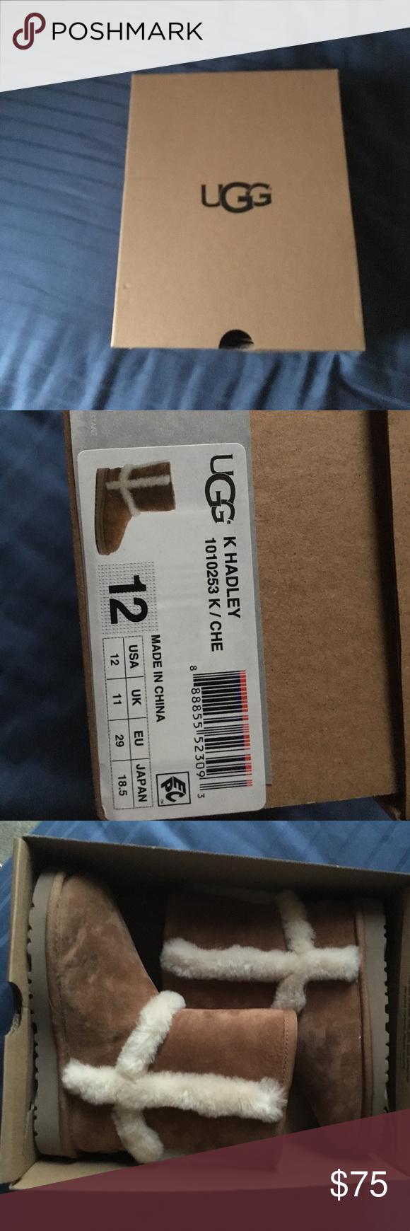 9dbb6a5cf74 Kids size 12 UGG Kids size 12 UGG Brand New ! In Box ! Never worn ...