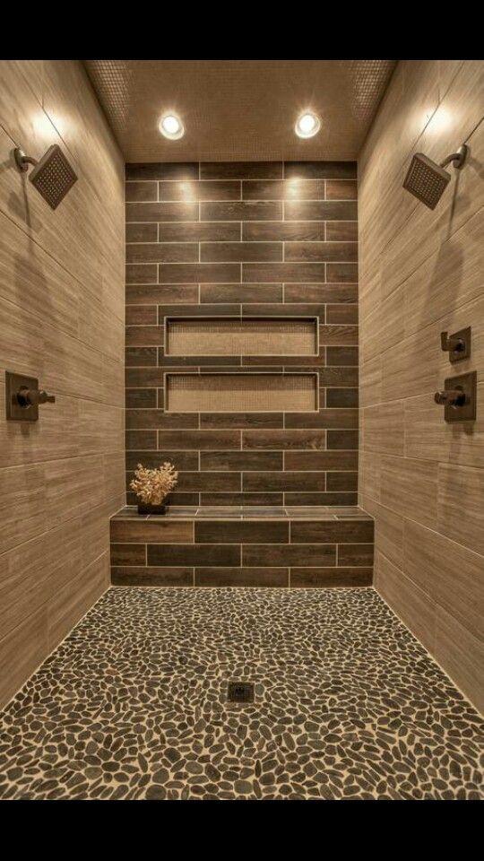2 person shower. Yaaaas! | Dream Homes | Pinterest | Bath, House ...