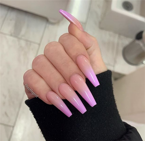 44 Essential Things For Nails Acrylic Coffin Matte Ombre 41 Ombre Acrylic Nails Trendy Nails Pink Ombre Nails