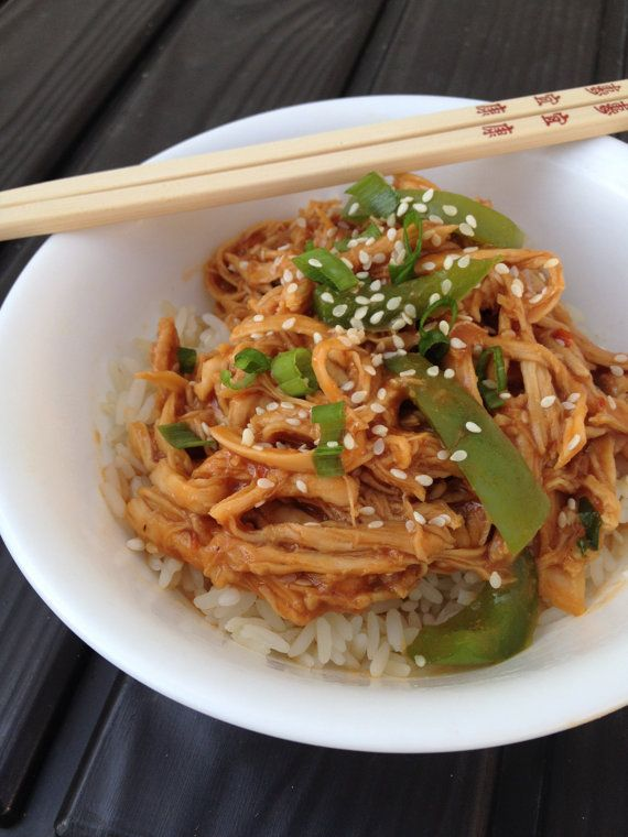 Slow cooker sweet chili asian bbq chicken recipe pdf pinterest forumfinder Image collections