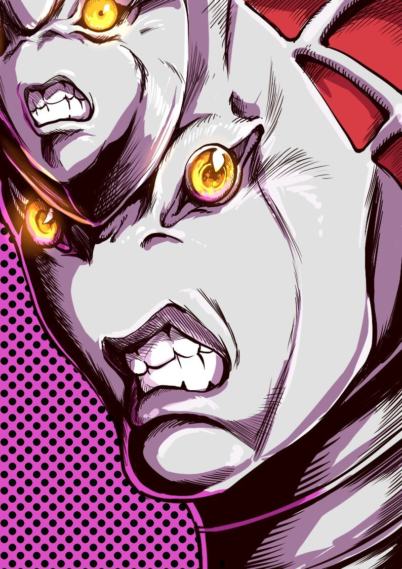 Intense Anime Styled King Crimson Vento Aureo Jojo Bizarre King Crimson Jojo Jojo Bizzare Adventure
