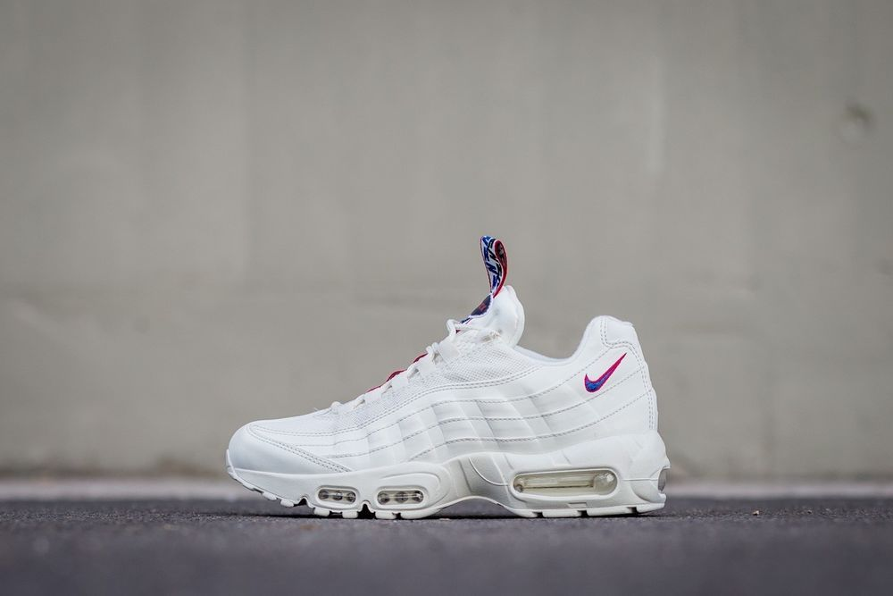 NIKE AIR MAX 95 TT - SAIL, GYM BLUE & GYM RED SUPER RARE DS TRAINERS ALL  SIZES