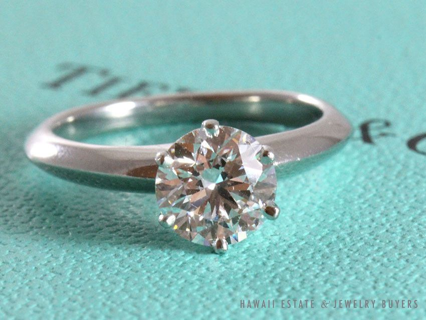 Jewelry & Watches Vs1 D Matching Band Set Diamond Ring Engagement 14 Kt White Gold 1.12 Ct Modern