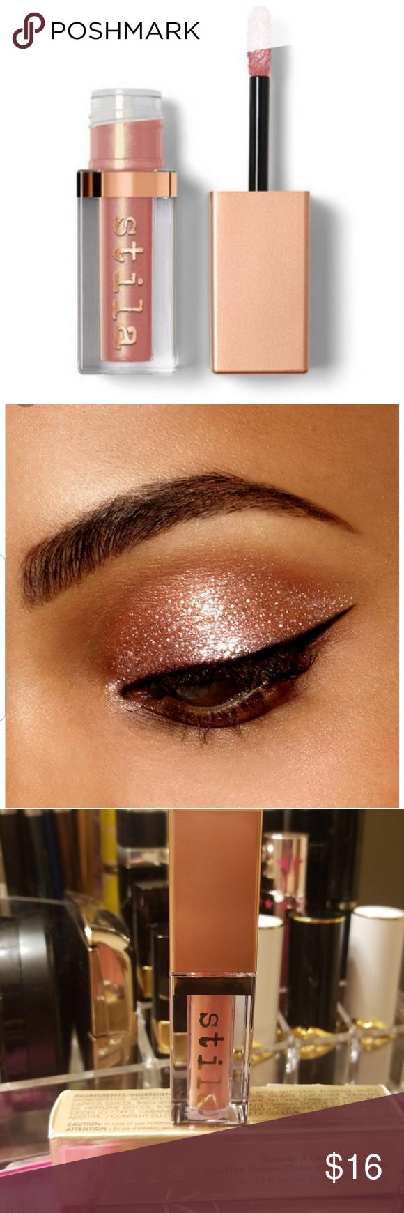 BNIB💝 Stila Shimmer and Glow Liquid Eyeshadow SHADE