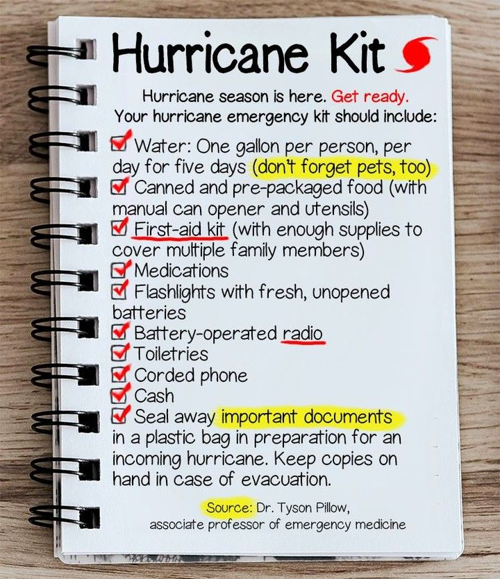 What's in your Hurricane Kit? insurancebroker tampa