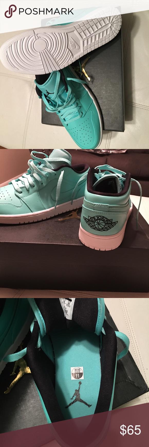 8725f4a89c96 Nike Air Jordan 1 Low NEW! Never worn Nike Air Jordan s . Hyper Turquoise