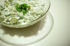 Ba e BI: Salada de Pepino e Uva Verde