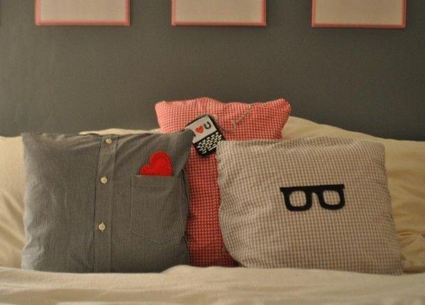 Funny T-shirt cushions