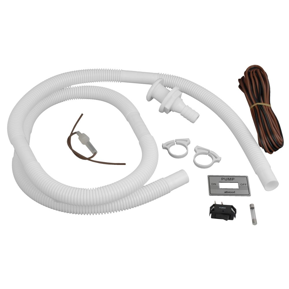 Wire Bilge Pump Kits Center Rule 750 Wiring Moreover Automatic Diagram Attwood Installation Kit W Switch 3 4 Hose Clamps 20 Rh Pinterest Com 12 Volt Pumps Float