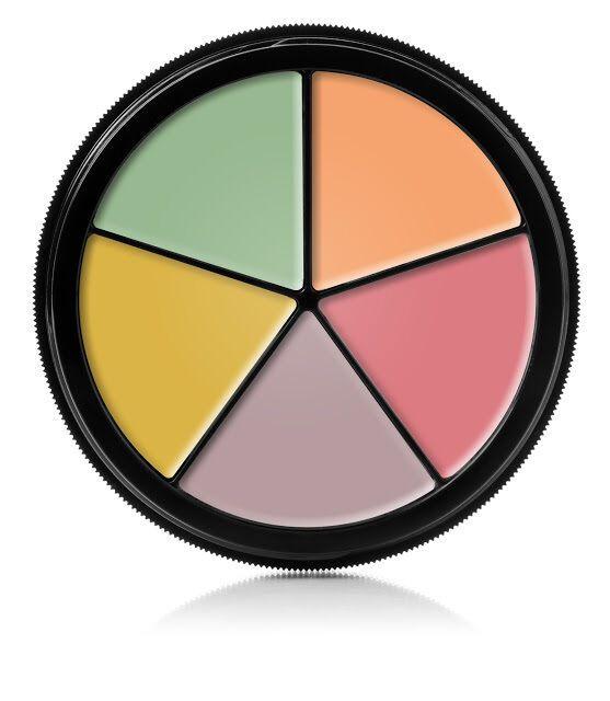 Procoloring Neutralizer 5 Color Concealer Makeup Mehron Face Skin Tint Corrector Mehron Concealer Makeup Concealer Colors Color Correction Makeup