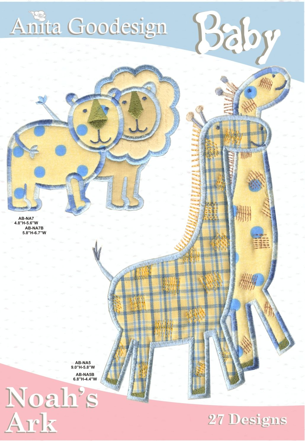 Anita Goodesign Baby Noah S Ark