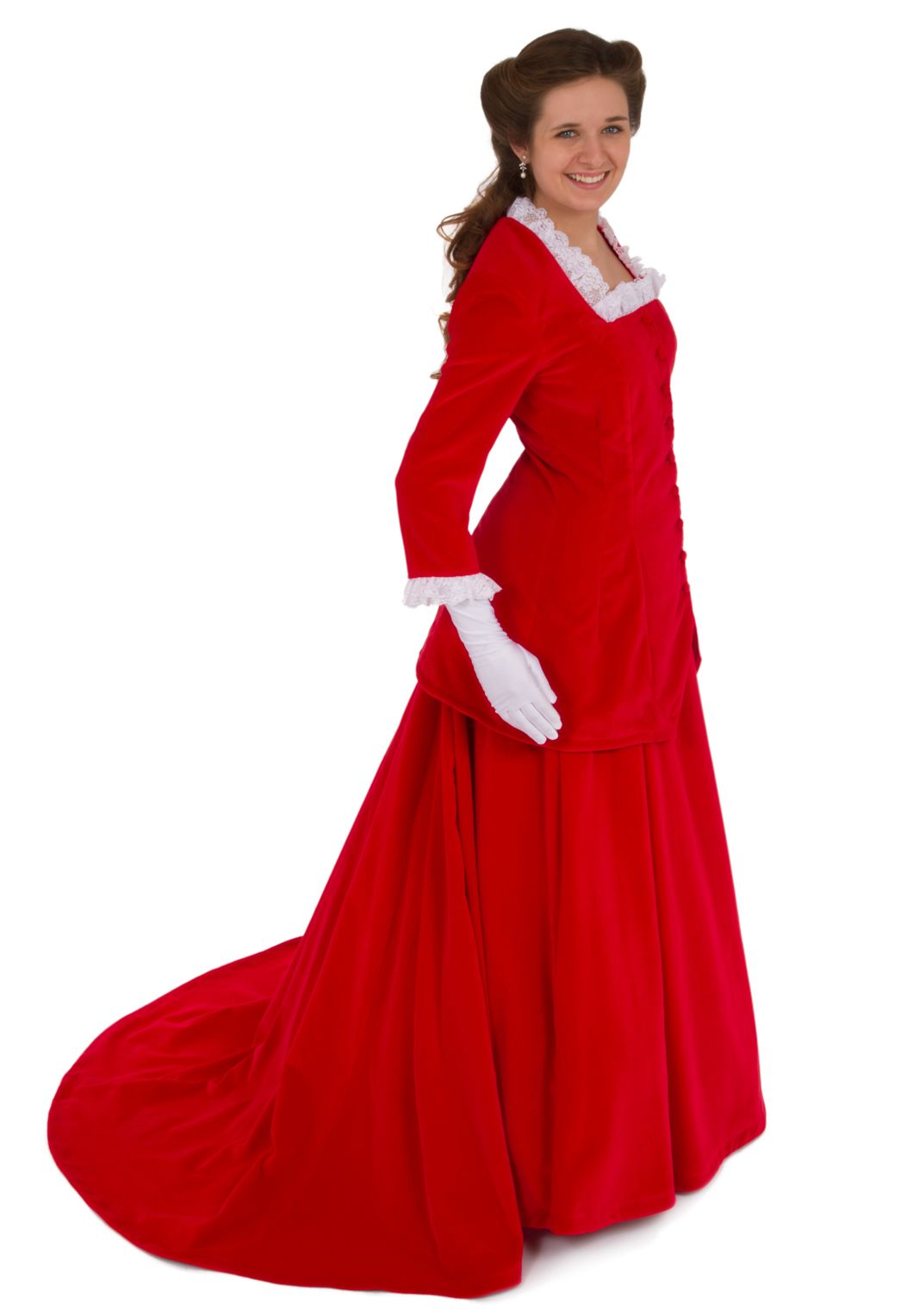 Emmanuelle victorian velvet suit by recollections doesnut really