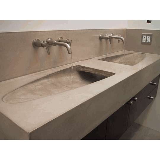 dual bathroom sinks one drain rukinet com images about trough sinks on pinterest cement bathroom