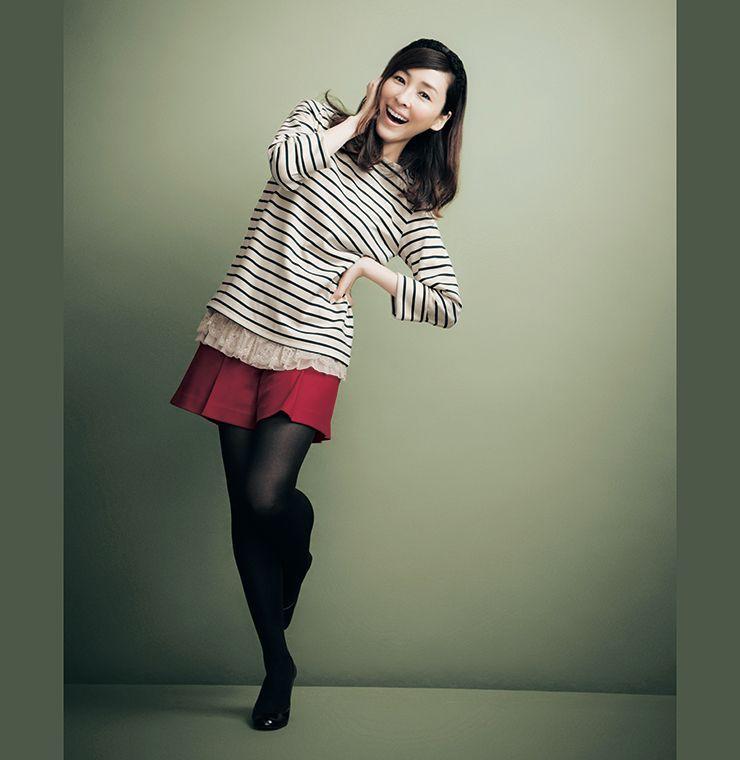 【new】麻生久美子さんが着る、冬のクラッシック Aso Actresses And Belle