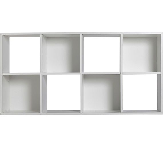 Buy Home Squares 8 Cube Storage Unit White At Argos Co Uk Your Online Shop For Storage Units Storage Home And Garden