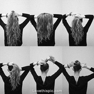Diy messy bun hair hair color diy hair styles bun diy ideas diy diy messy bun hair hair color diy hair styles bun diy ideas diy crafts do it solutioingenieria Gallery