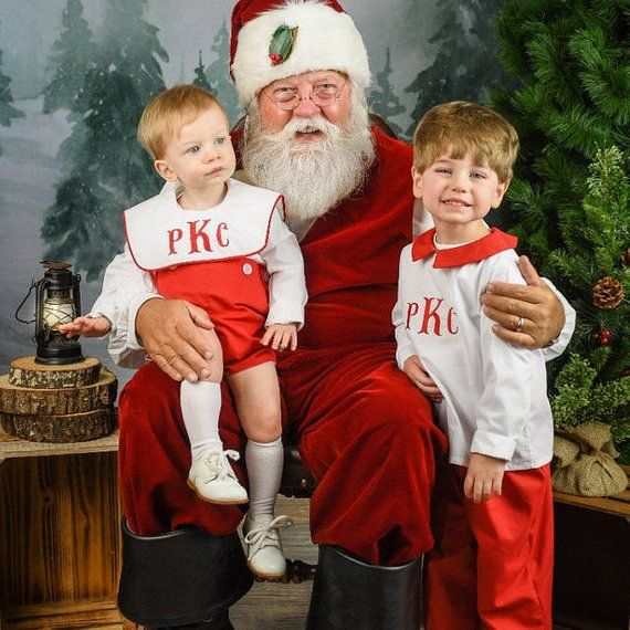 Baby Boy Christmas Outfit, Toddler Boy Christmas Outfit, Brothers