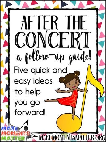 What to Do AFTER the Concert: A Follow-Up Guide | Music