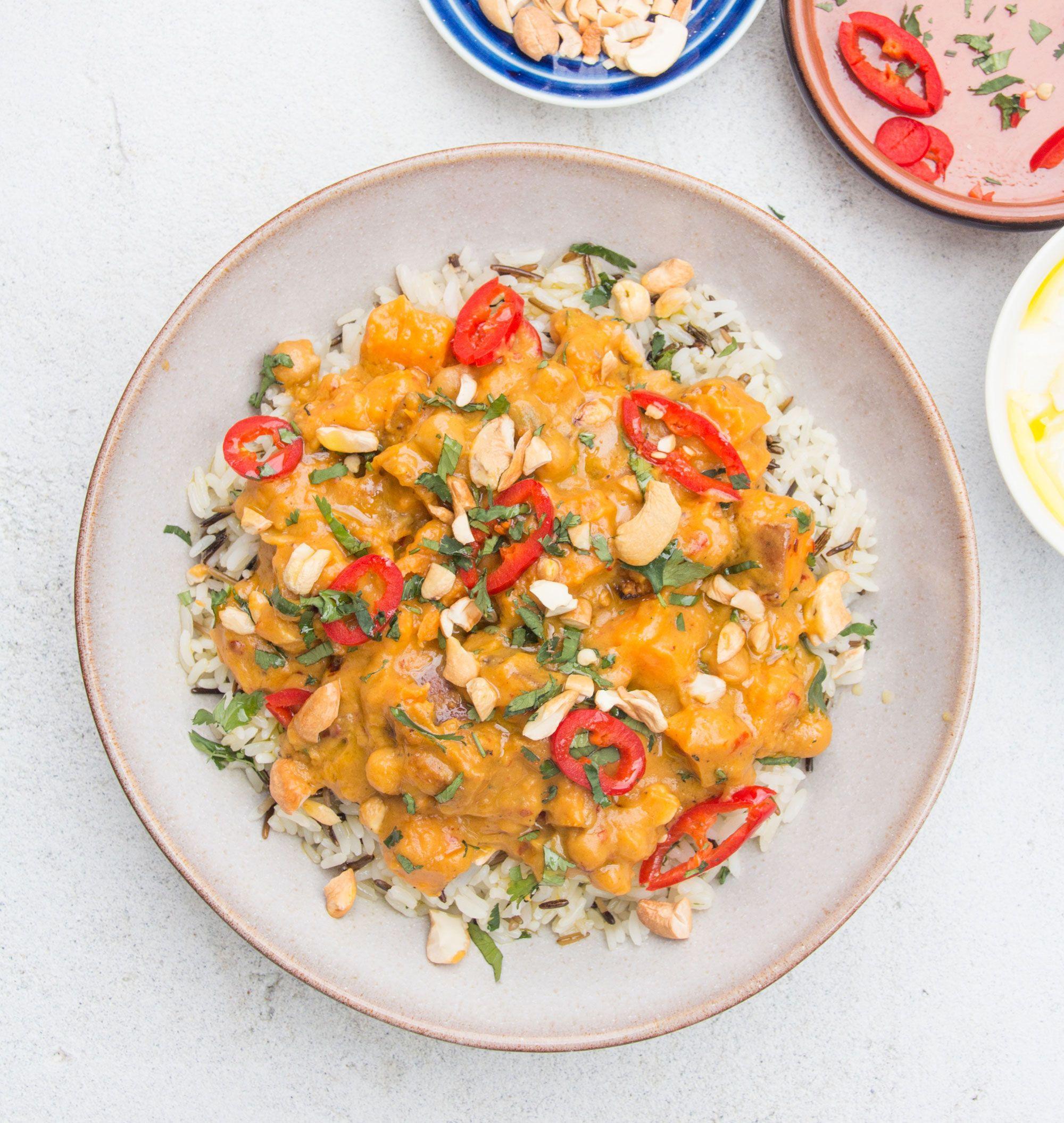Sweet Potato, Lemon Grass and Coconut curry   Lemongrass recipes ...