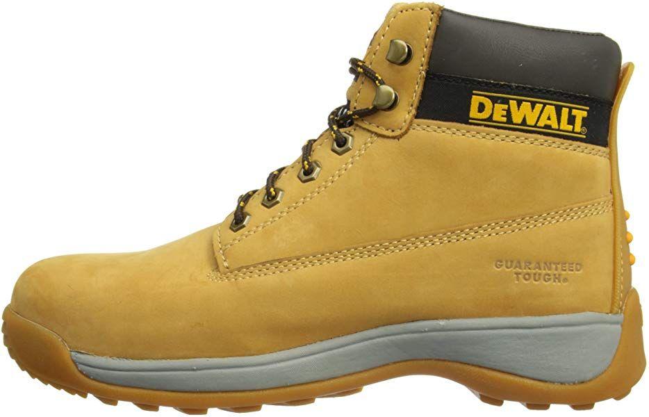 ad82f2907cd DeWalt Apprentice , Men's Safety Boots , Honey Nubuck , 8 UK (42 EU ...