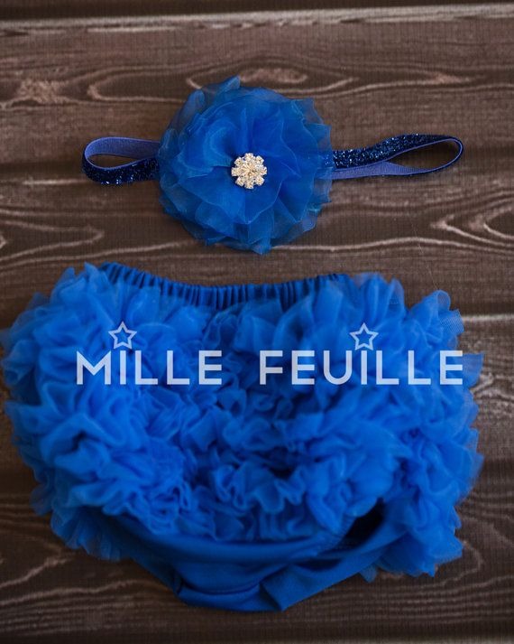 bloomers FRONT & BACK chiffon ruffles and by MilleFeuilleBoutique