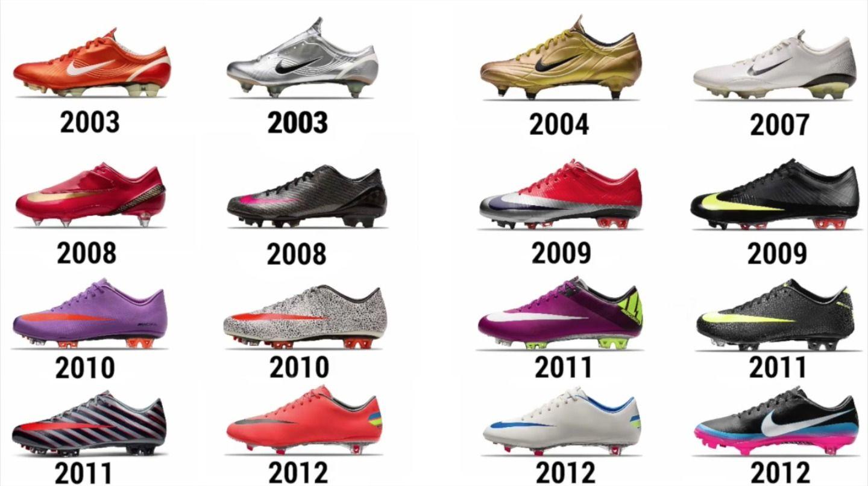 Every Boot Nike Has Made Cristiano