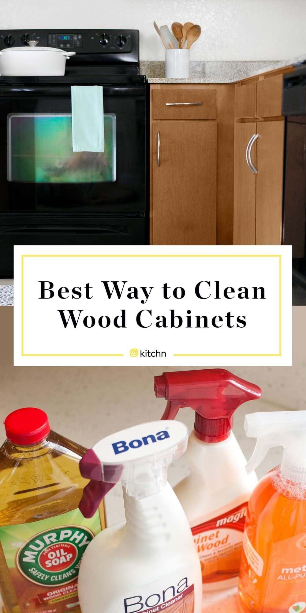 How To Clean Wood Kitchen Cabinets And The Best Cleaner For The Job Cleaning Wood Cleaning Wood Cabinets Clean Kitchen Cabinets