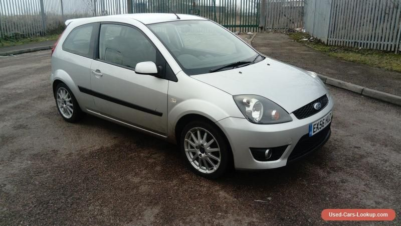 2006 ford fiesta zetec s silver tdci ford fiestazetecs. Black Bedroom Furniture Sets. Home Design Ideas