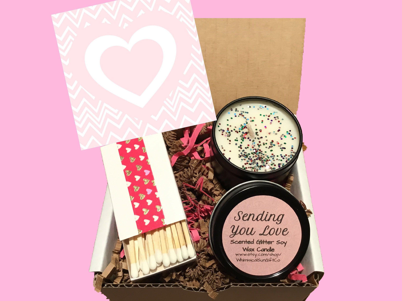 Encouragement gift box of sunshine thinking of you gift