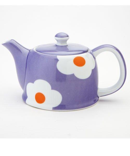 The Daisy Collection Teapot, Purple 18 oz |Yedi Houseware