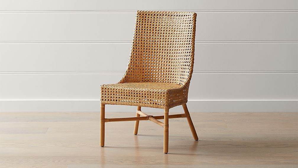 Maluku Natural Rattan Dining Side Chair In 2020 Side Chairs Side Chairs Dining Rattan Dining Chairs