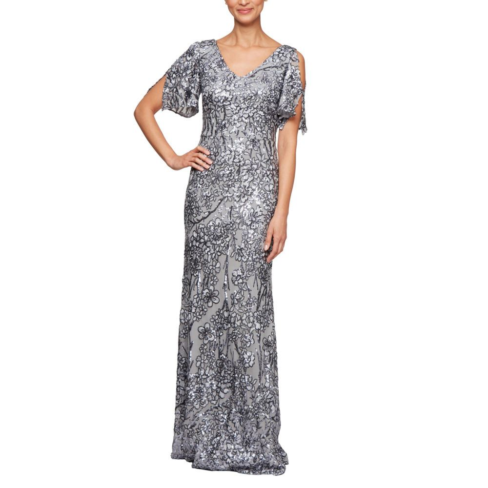 Dress 33 Sparkly Mother Of The Bride Formal Gown Long Sequin Dress Sequin Gown Sequin Dress [ 1000 x 1000 Pixel ]