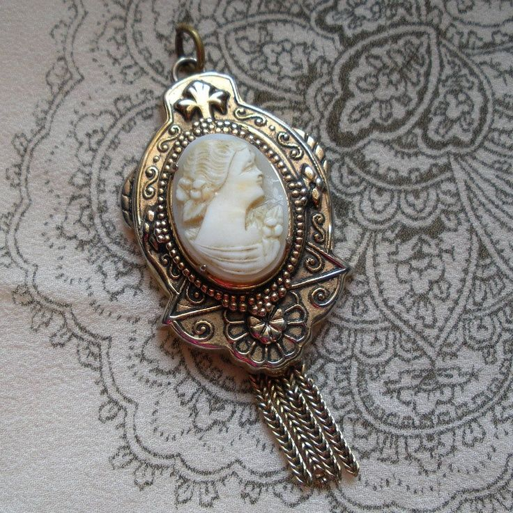 Victorian cameos victorian cameo pendant with tassel fringe victorian cameo pendant with tassel fringe mozeypictures Choice Image
