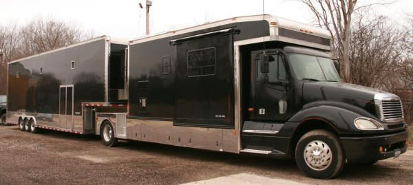 New and used renegade motorhomes toterhomes for sale for Peterbilt motor coach for sale
