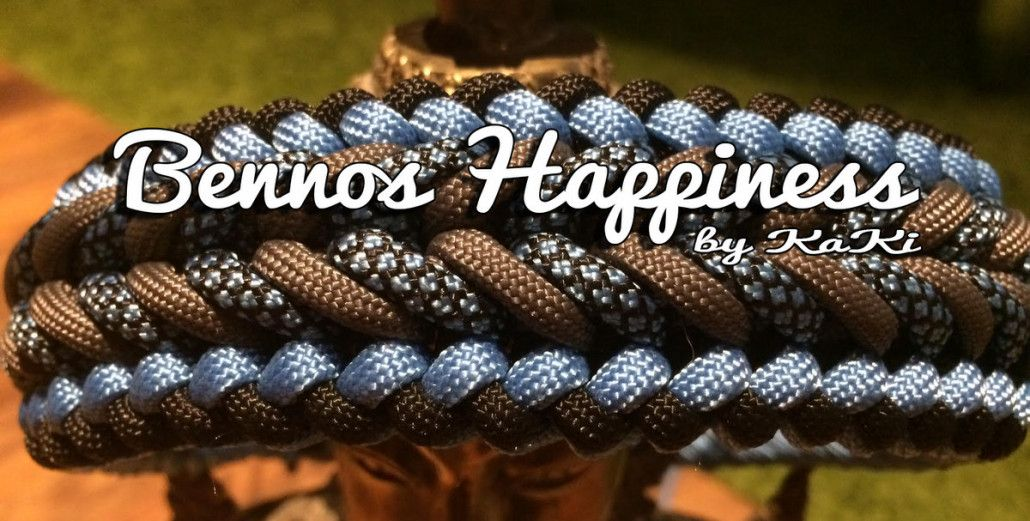 bennos happiness halsb nder pinterest paracord knoten und paracord armb nder. Black Bedroom Furniture Sets. Home Design Ideas