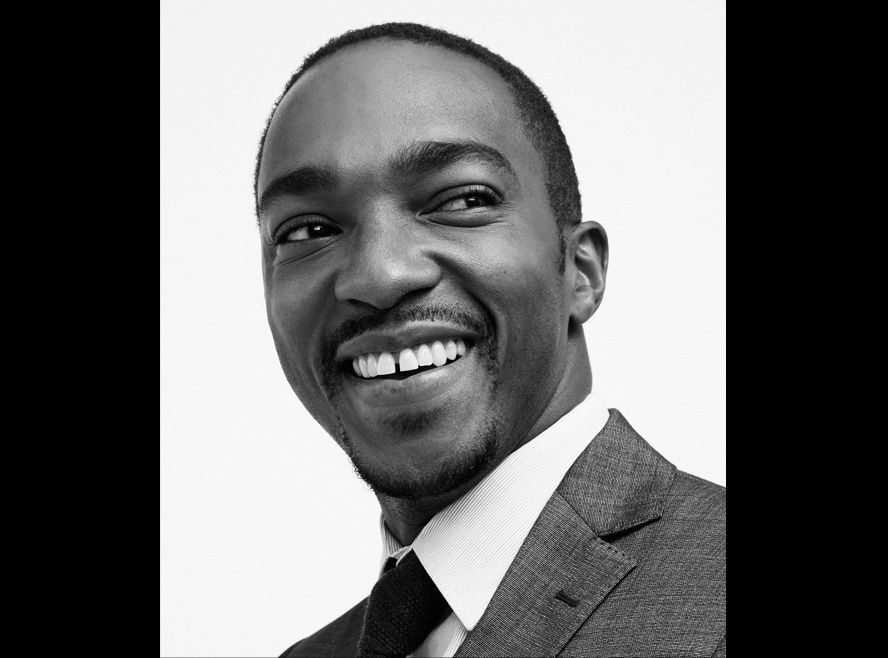 Stars Shine in InStyle's #TIFF2014 Portrait Studio - Anthony Mackie of 'Shelter' and 'Black and White' from #InStyle ~So Handsome!!!