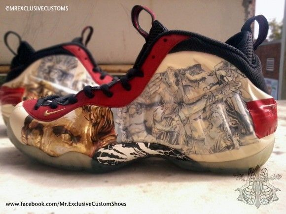 c6ba85e09f3 Nike Air Foamposite Pro Yeezus by Mr Exclusive Customs