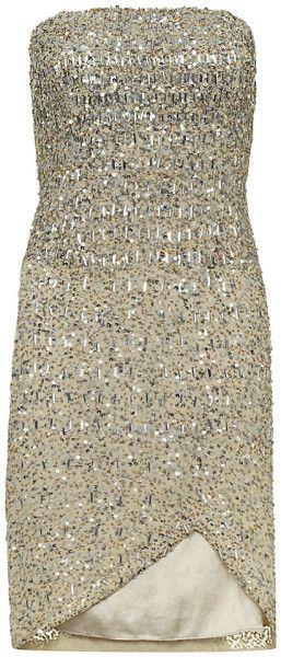 RACHEL GILBERT Milly Sequin Dress - Lyst