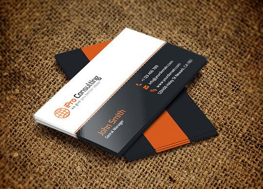 45 Free Psd Business Card Templates Free Business Card Templates Business Card Set Business Card Template Psd